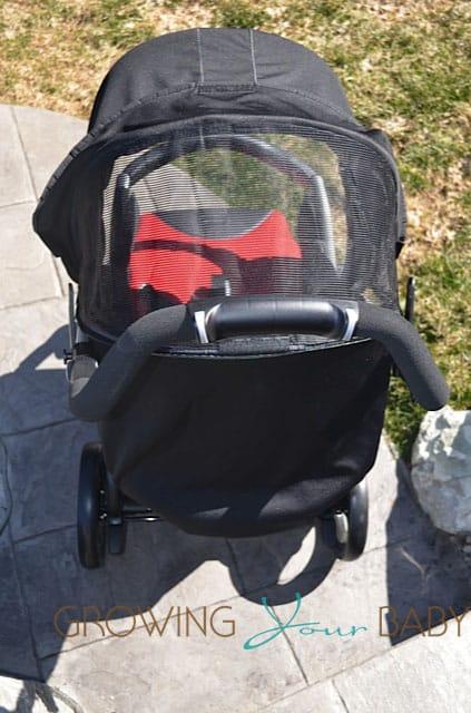 Peg Perego Book stroller canopy mesh