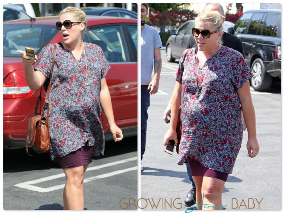 Pregnant Busy Philipps out in LA