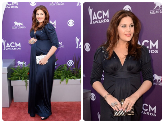 Pregnant Hillary Scott @ the 48th Annual Academy Of Country Music Awards
