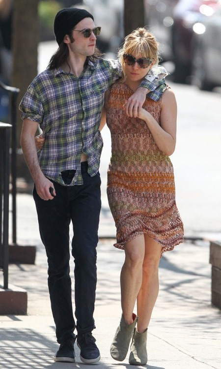 Sienna Miller and Tom Sturridge NYC