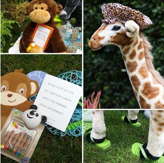Skyler Bermans Safari birthday party