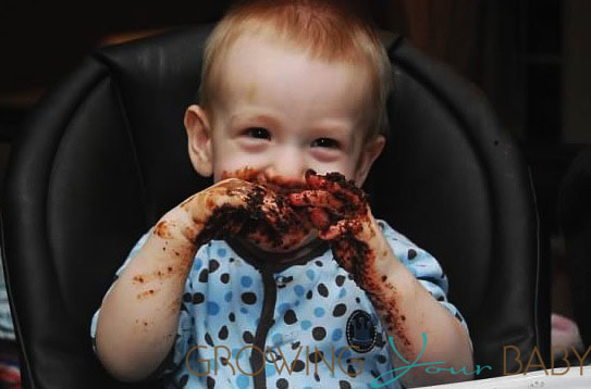 Eating Cake Growing Your Baby