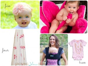 pink for spring - baby