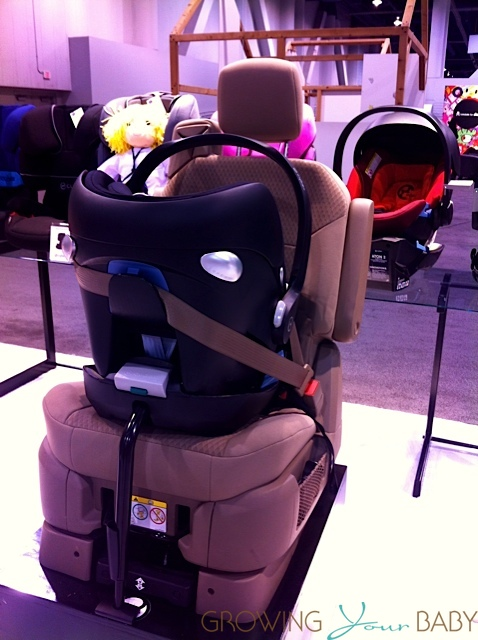 2014 ATON Q Infant car seat - european belt path