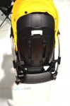2014 Bugaboo Bee3 - back of seat when folded