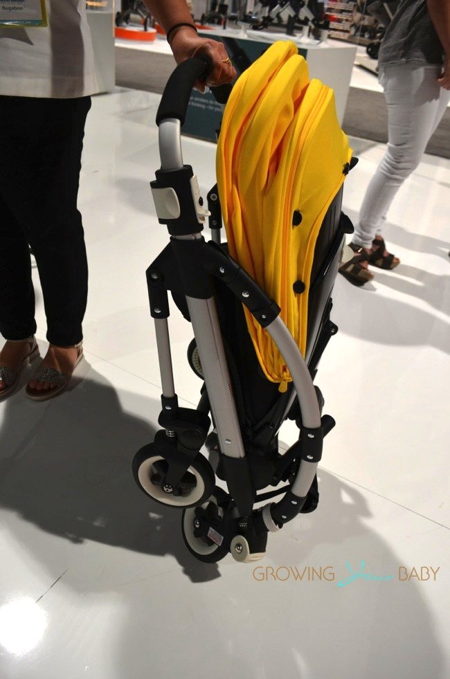 2014 Bugaboo Bee3 Stroller Folded Growing Your Baby