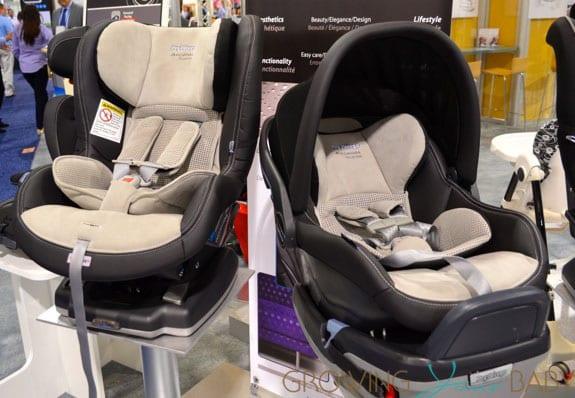 2014 Peg Perego Alcantara car seats