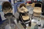 2014 Peg Perego Book Pop Up Stroller in Creme