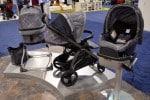 2014 Peg Perego Pop Up Stroller, bassinet and 4