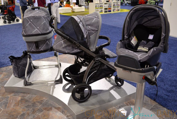 2014 Peg Perego Pop Up Stroller, bassinet and 4.35 in Taiana collection