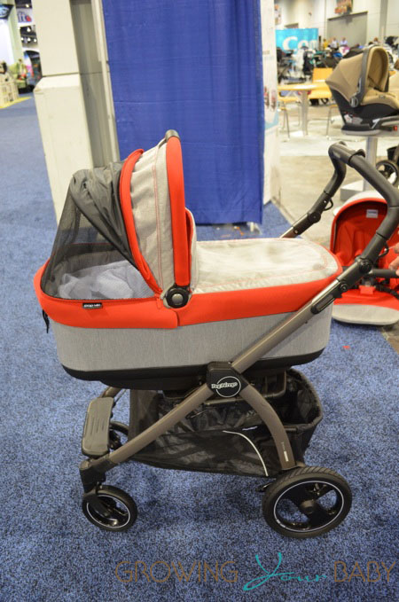 2014 Peg Perego Pop Up Stroller canopy with vent open
