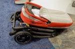 2014 Peg Perego Pop Up Stroller folded