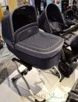 2014 Peg Perego Pop Up Stroller with bassinet indigo