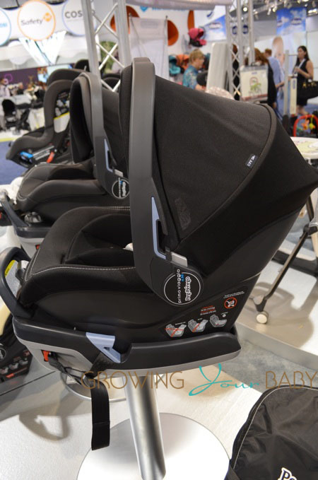 2014 Peg Perego Primo Viaggio 435 Infant Seat Side View Growing