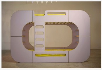 IO Kids Design Bunk Pod white