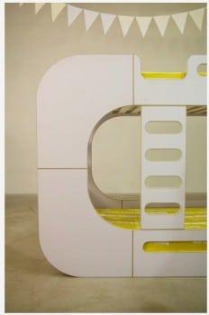 IO Kids Design Bunk Pod with ladder