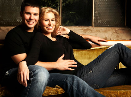 Supermodel Niki Taylor and her husband Burney Lamar