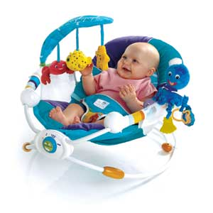 baby einstein water rocker seat