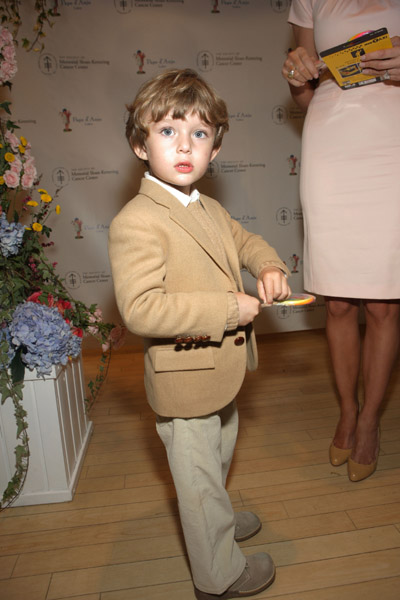 barron trump at the 18th annual Bunny Hop