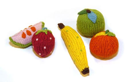 fruit rattle