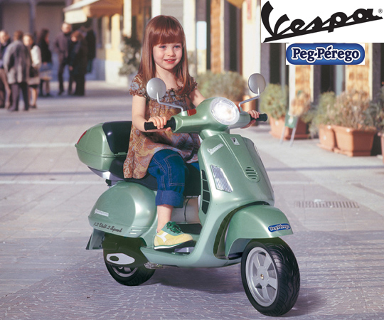 "Peg Perego ""Vespa"" Ride On Bike"