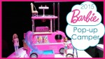 2015 Barbie Pop-up Camper