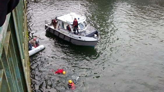 Baby Pulled from Comox Valley River