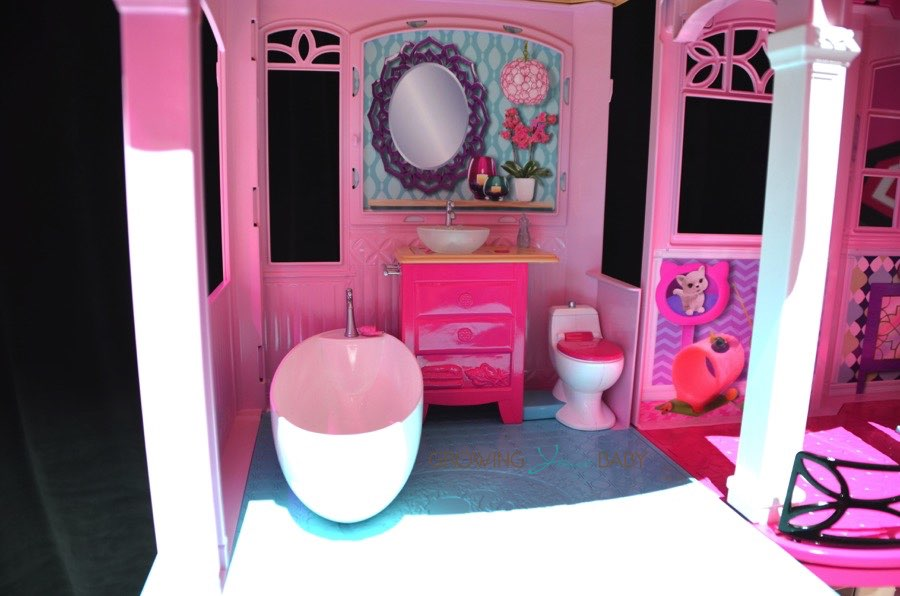 Barbie 2015 Dream House Modern Bathroom Growing Your Baby