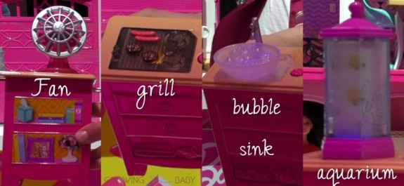 Barbie Dreamhouse Interactive sink