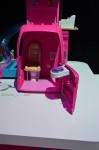 Barbie Pop-up Camper - driver's area