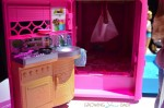 Barbie Pop-up Camper - kitchen :sleeping area