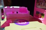 Barbie Pop-up Camper living room