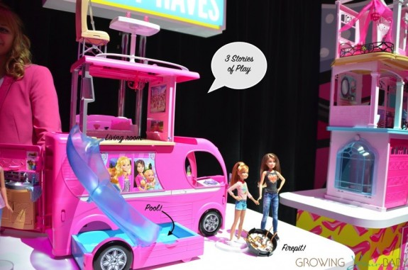Barbie Pop-up Camper - side view