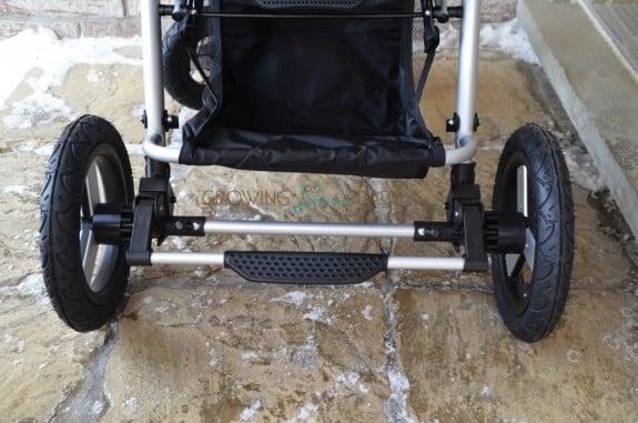 Bumbleride Indie 4 stroller - brakes
