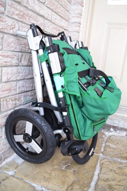 Bumbleride Indie 4 stroller - folded
