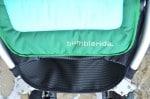 Bumbleride Indie 4 stroller footwell