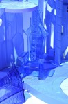 Disney's Frozen Ice Castle by Mattel throne