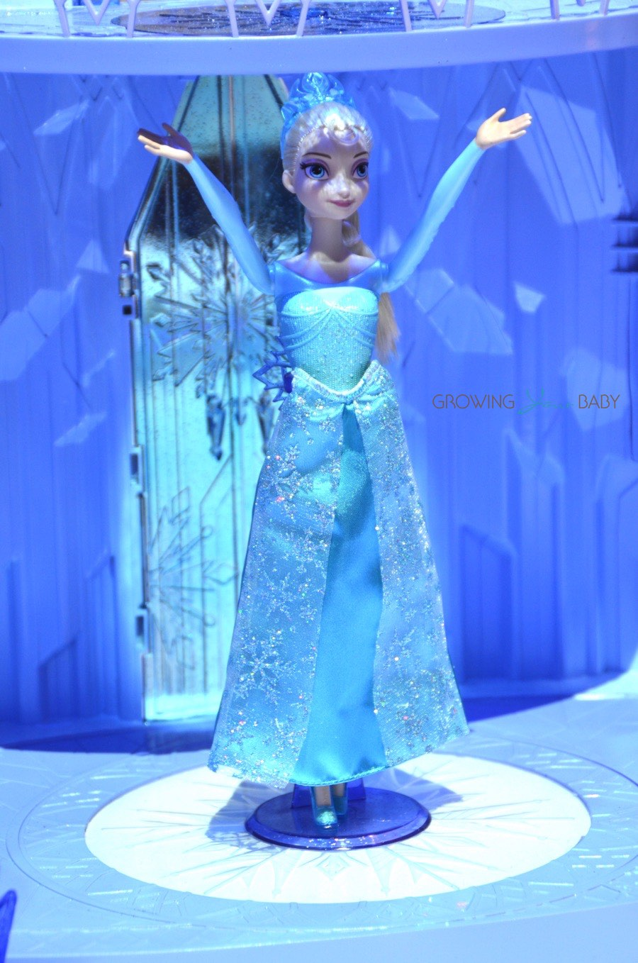 Disney's Frozen Ice Castle by Mattel with elsa - Growing Your Baby