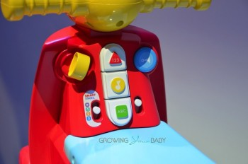 Fisher-Price's Smart Stages Scooter - dashboard