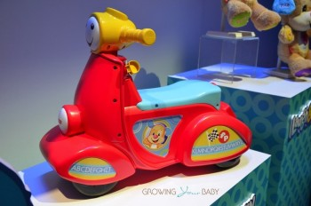 Fisher-Price's Smart Stages Scooter  - side