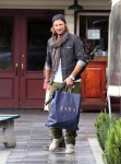 Gabriel Aubry & daughter Nahla seen after lunch at Short Order in Los Angeles