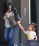 Jenna Dewan Tatum with her daughter Everly in LA