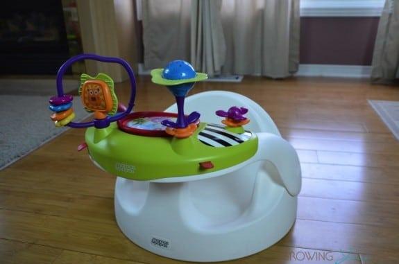 Mamas & Papas Baby Snug Floor Seat With Activity Tray