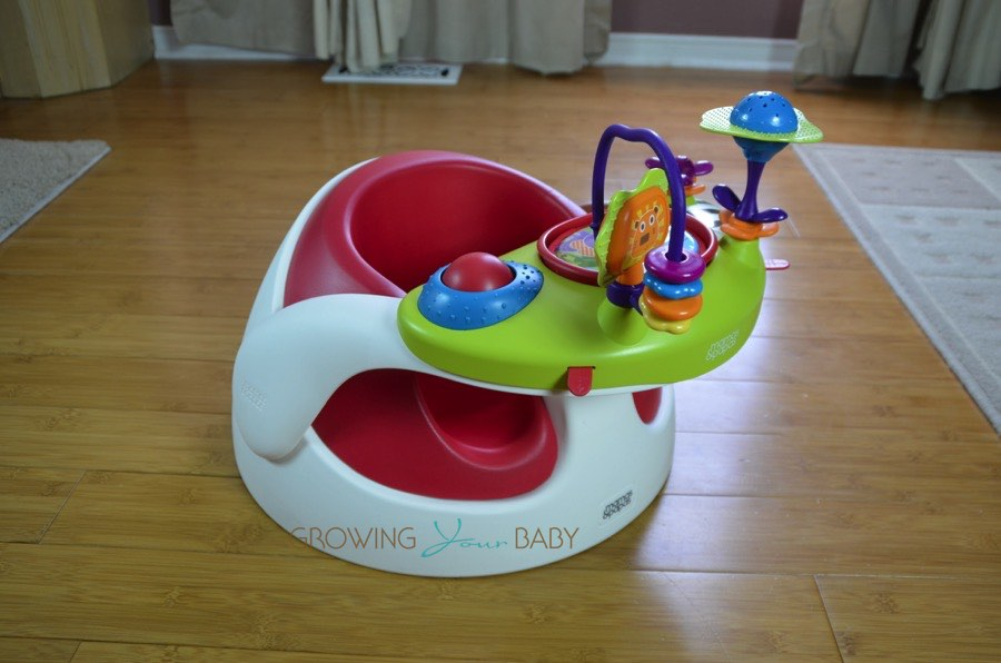 Mamas Papas Baby Snug Floor Seat With Activity Tray