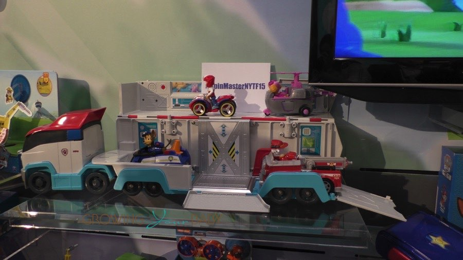 Paw Patrol Paw Patroller Truck from Toy Faor 2015 ...