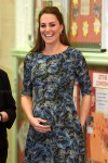Pregnant Kate Middleton is all smiles spending time with the children while visiting Cape Hill Children's Centre in Smethwick, London