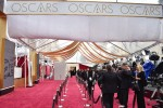 Red carpet at 87th Annual Academy Awards in Los Angeles