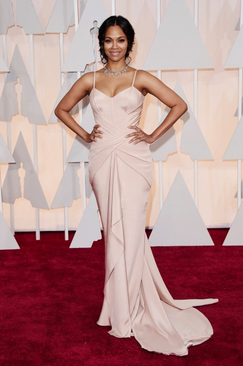 Zoe Saldana - 87th Annual Academy Awards in Los Angeles
