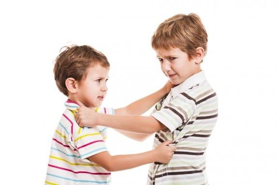boys arguing