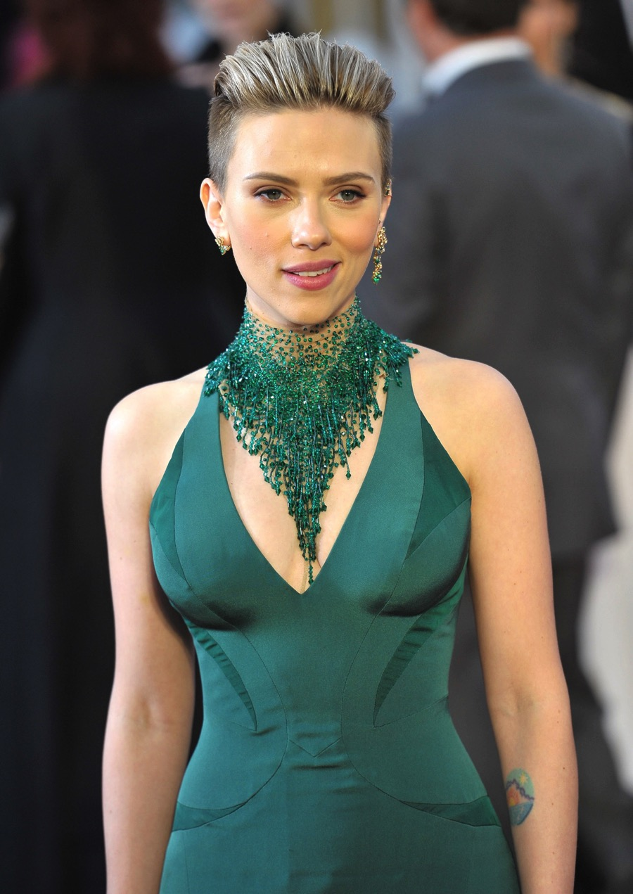Scarlett Johansson At The 87th Academy Awards Growing